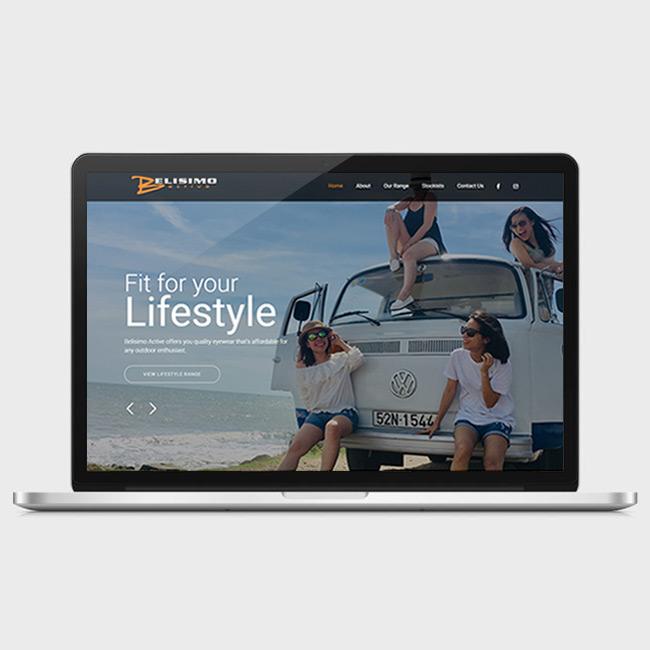 Website Design for Belisimo Active