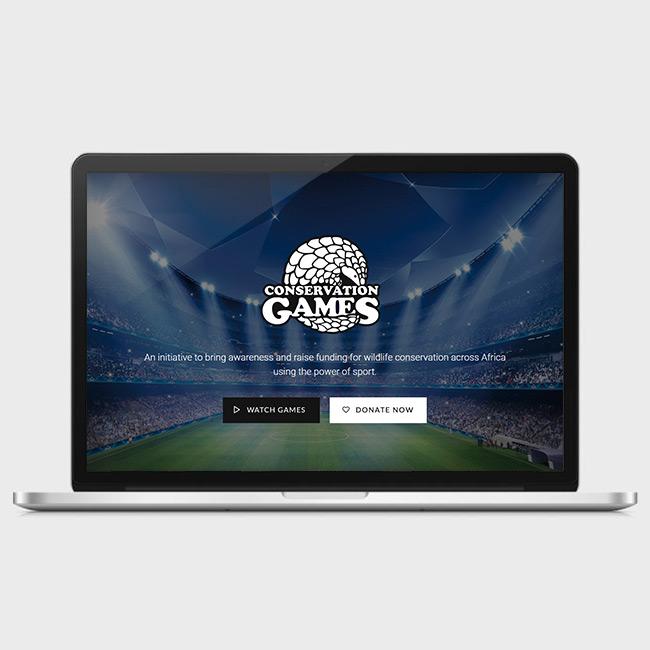 Website Design for Conservation Games
