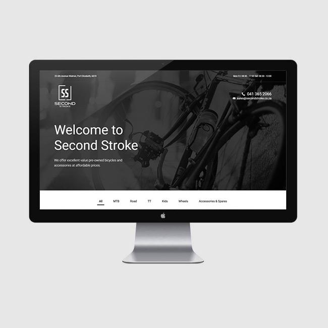 Website Design for Second Stroke