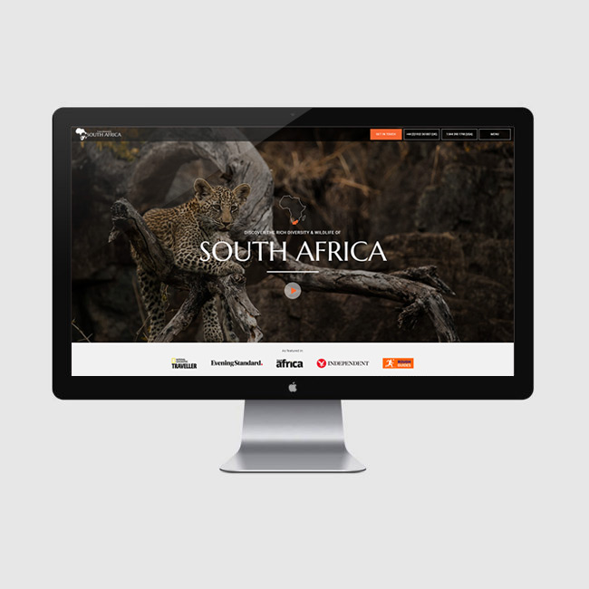 Website Design for Tailormade South Africa